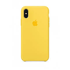 Чехол накладка Silicone Case для iPhone XR - Yellow