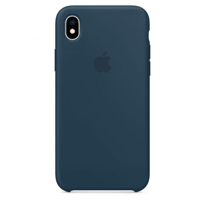 Чехол накладка Silicone Case для iPhone XR - Pacific Green