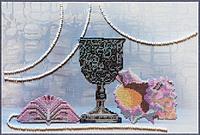Набор для вышивки бисером Одиссея 35х235 см Abris Art AB-104
