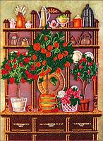 Набор для вышивки бисером Столовый буфет 23х30 см Abris Art AB-372