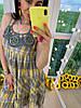 Сарафан на бретельках декорирован вышивкой макраме, ткань: хлопок. Размер:42-44. Разные цвета (07), фото 6