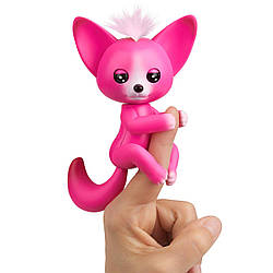 Интерактивная лисичка Fingerlings - Кайла (ярко-розовая). Interactive Baby Fox - Kayla, Hot Pink (3570/3573)