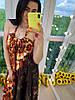 Сарафан на бретельках с открытой зоной декольте, ткань: креп атлас. Размер:44-46. Разные цвета (07), фото 5