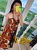 Сарафан на бретельках с открытой зоной декольте, ткань: креп атлас. Размер:44-46. Разные цвета (07), фото 7