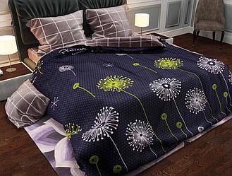 Двуспальный комплект постельного белья евро 200*220 хлопок  (11965) TM KRISPOL Украина