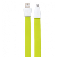 Кабель Remax Full Speed 2 Micro USB RC-011m 1M Green