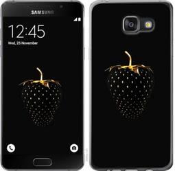 """Чехол на Samsung Galaxy A7 (2016) A710F Черная клубника """"3585c-121-19380"""""""