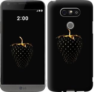 """Чехол на LG G5 H860 Черная клубника """"3585c-348-19380"""""""