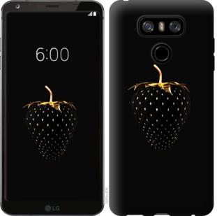 """Чехол на LG G6 Черная клубника """"3585u-836-19380"""""""