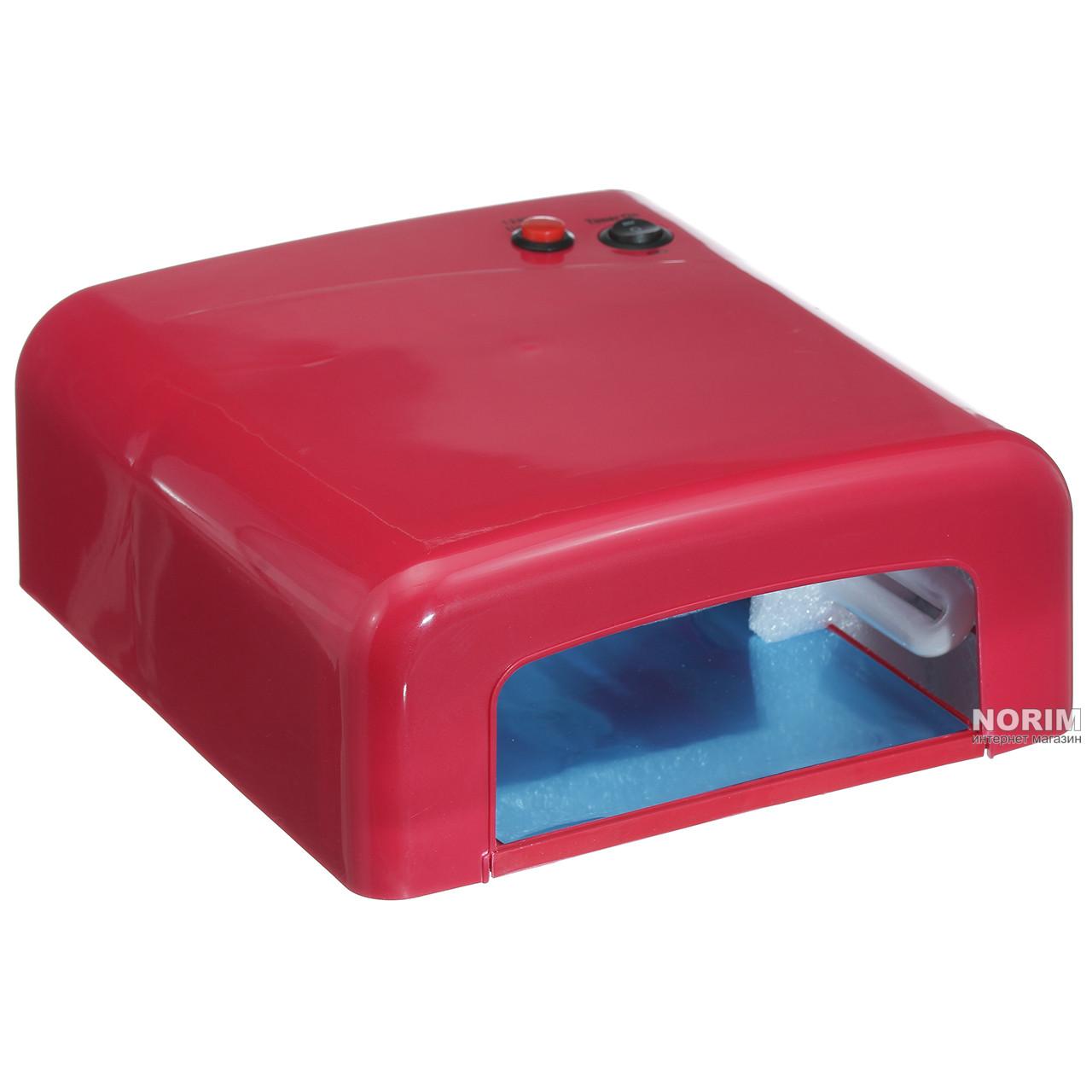 Уф Лампа 36ватт (818) Красная (Уценка)