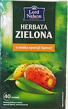 Чай Lord Nelson Herbata Zelona z sokiem z opincji 40 пакетов