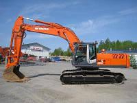 Услуги экскавации гусеничным экскаватором Hitachi ZX 330L, 1,78 м3