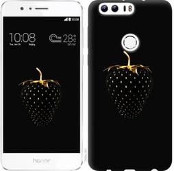 """Чехол на Huawei Honor 8 Черная клубника """"3585c-351-19380"""""""