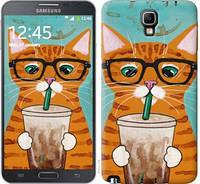 """Чехол на Samsung Galaxy Note 3 Neo N7505 Зеленоглазый кот в очках """"4054u-136-17806"""""""
