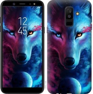 "Чехол на Samsung Galaxy A6 Plus 2018 Арт-волк ""3999c-1495-19380"""