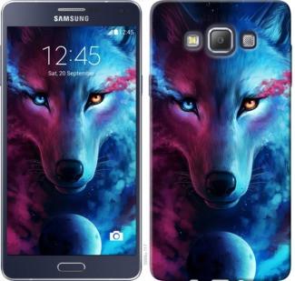 "Чехол на Samsung Galaxy A7 A700H Арт-волк ""3999c-117-19380"""