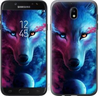 "Чехол на Samsung Galaxy J7 J730 (2017) Арт-волк ""3999c-786-19380"""