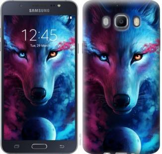 "Чехол на Samsung Galaxy J7 (2016) J710F Арт-волк ""3999c-263-19380"""
