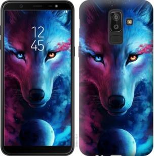 "Чехол на Samsung Galaxy J8 2018 Арт-волк ""3999c-1511-19380"""