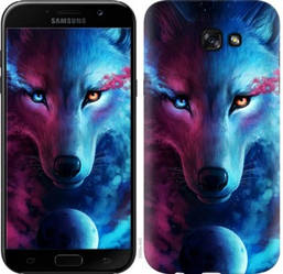 "Чехол на Samsung Galaxy J4 Plus 2018 Арт-волк ""3999c-1594-19380"""