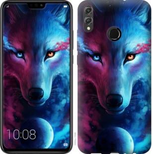 """Чехол на Huawei Honor 8X Арт-волк """"3999u-1596-19380"""""""