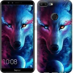 "Чехол на Huawei Honor 9 Lite Арт-волк ""3999c-1359-19380"""