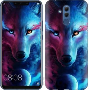 """Чехол на Huawei Mate 20 Lite Арт-волк """"3999u-1575-19380"""""""