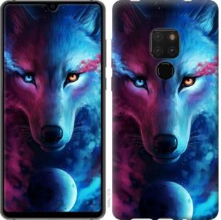 "Чехол на Huawei Mate 20 Арт-волк ""3999u-1578-19380"""