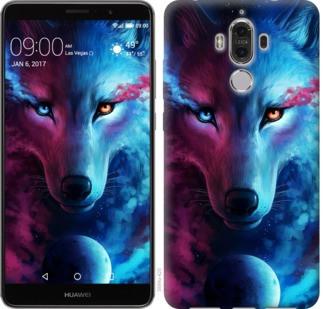 "Чехол на Huawei Mate 9 Арт-волк ""3999u-425-19380"""