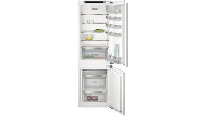 Встраиваемый холодильник с морозильником Siemens KI86SKD41