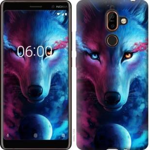 "Чехол на Nokia 7 Plus Арт-волк ""3999u-1354-19380"""