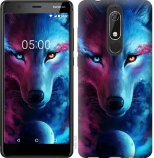 "Чехол на Nokia 5.1 Арт-волк ""3999u-1529-19380"""