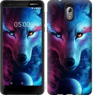 "Чехол на Nokia 3.1 Арт-волк ""3999u-1530-19380"""