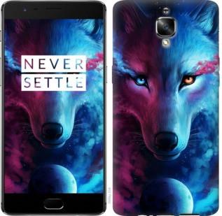 "Чехол на OnePlus 3T Арт-волк ""3999c-1617-19380"""