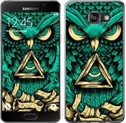 "Чехол на Samsung Galaxy A7 (2016) A710F Сова Арт-тату ""3971c-121-19380"""