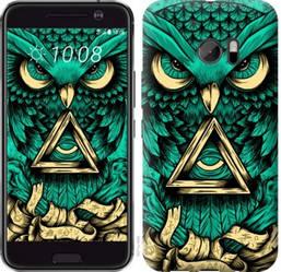 """Чехол на HTC 10 Сова Арт-тату """"3971c-464-19380"""""""