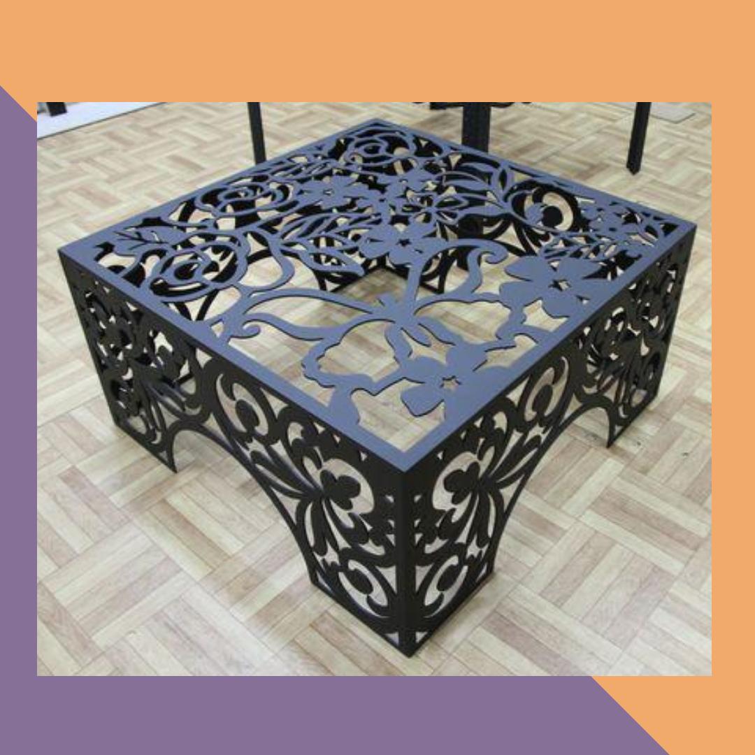 Мебель с элементами 3D фрезеровки