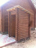 Деревянные туалеты для дачи