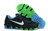 Мужские кроссовки Nike Air Max 2015 Tailwind 7 Running 20k7 черно-сине-зеленые, фото 1