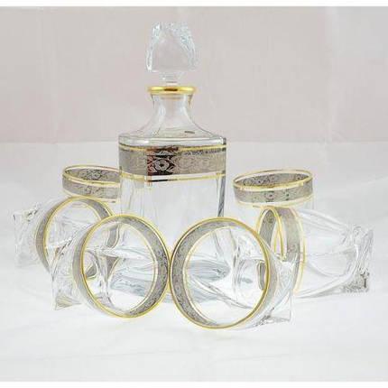Набор для виски 7пр Quadro Bohemia 99999-99A44-480-43249, фото 2