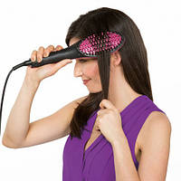 Электрическая расческа выпрямитель волос Simply Straight HQT-906B, Черная