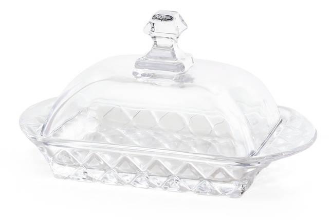 Масленка кухонная стеклянная 17.3см, фото 2