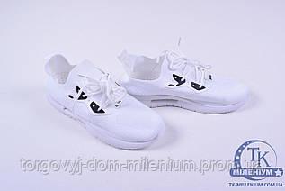 Кроссовки мужские тканевые (цв.белый) BDDS M-895 Размер:42,43,44,45