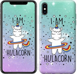 "Чехол на iPhone XS Max I'm hulacorn ""3976c-1557-19380"""