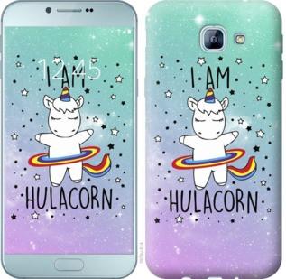 "Чехол на Samsung Galaxy A8 (2016) A810 I'm hulacorn ""3976u-614-19380"""
