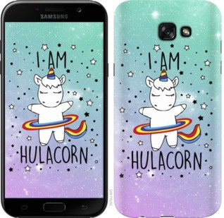 "Чехол на Samsung Galaxy J4 Plus 2018 I'm hulacorn ""3976c-1594-19380"""