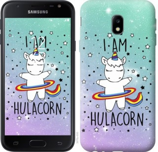 "Чехол на Samsung Galaxy J3 (2017) I'm hulacorn ""3976c-650-19380"""