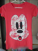 Футболка женская трикотажная Mickey