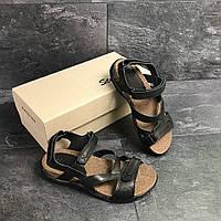 Сандали мужские кожаные Step Wey (сандалі чоловічі). Топ качество. Реплика класса люкс, фото 1