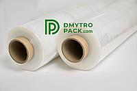 Стрейч пленка первичная (упаковочная) 17 мкм × 500 мм × 200 м, вес 1,56 кг